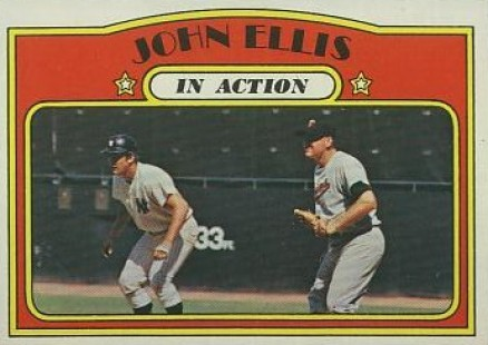 1972 Topps John Ellis #48 Baseball Card