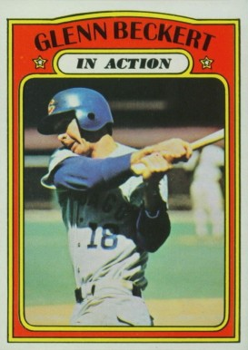 1972 Topps Glenn Beckert #46 Baseball Card