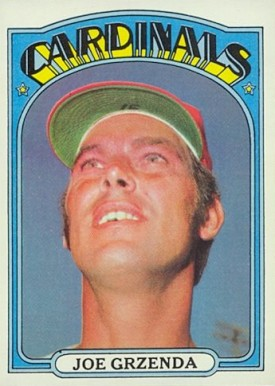 1972 Topps Joe Grzenda #13 Baseball Card
