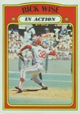1972 Topps Rick Wise #44 Baseball Card