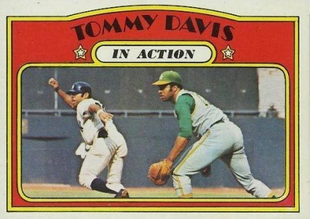 1972 Topps Tommy Davis #42 Baseball Card