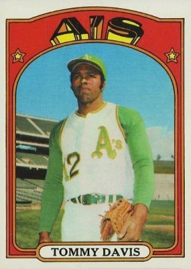 1972 Topps Tommy Davis #41 Baseball Card