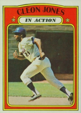 1972 Topps Cleon Jones #32 Baseball Card