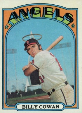 1972 Topps Billy Cowan #19 Baseball Card
