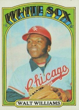 1972 Topps Walt Williams #15 Baseball Card