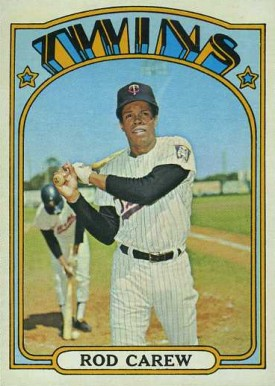 1972 Topps Rod Carew #695 Baseball Card