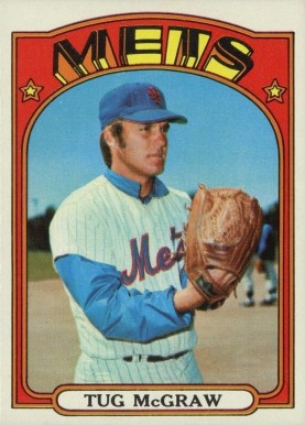 Tug Mcgraw Baseball Cards