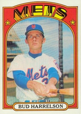 1972 Topps Bud Harrelson #53 Baseball Card