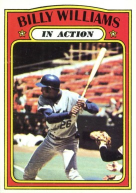 1972 Topps Billy Williams #440 Baseball Card
