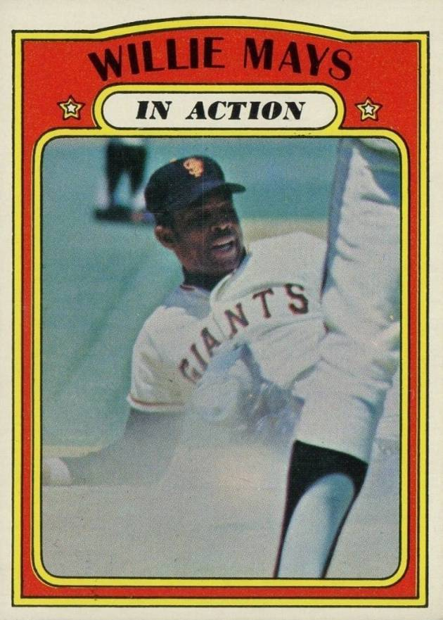 1972 Topps Willie Mays #50 Baseball Card