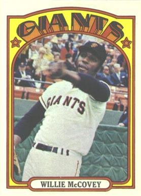 1972 Topps Willie McCovey #280 Baseball Card
