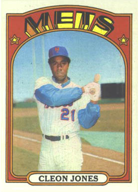 1972 Topps Cleon Jones #31 Baseball Card