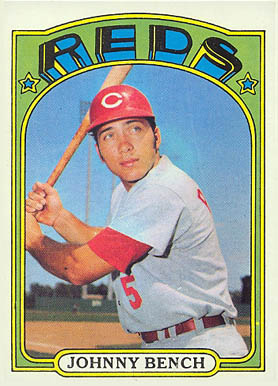 1972 Topps Johnny Bench #433 Baseball Card