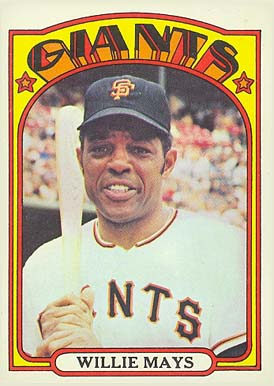 1972 Topps Willie Mays #49 Baseball Card