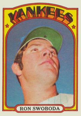 1972 Topps Ron Swoboda #8 Baseball Card