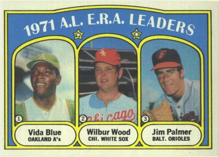 1972 Topps Vida Blue #92 Baseball Card