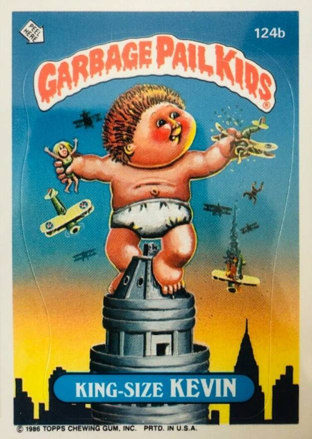 1986 Garbage Pail Kids Stickers Non Sports Card Set Vcp Price Guide