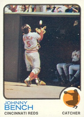 1973 Topps Johnny Bench #380 Baseball Card
