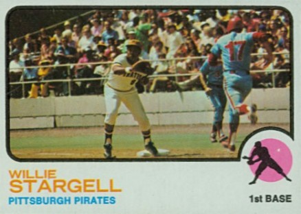 1973 Topps Willie Stargell #370 Baseball Card
