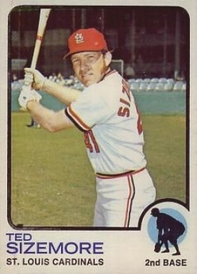 1973 Topps Ted Sizemore #128 Baseball Card