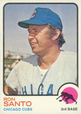1973 Topps Ron Santo #115 Baseball Card