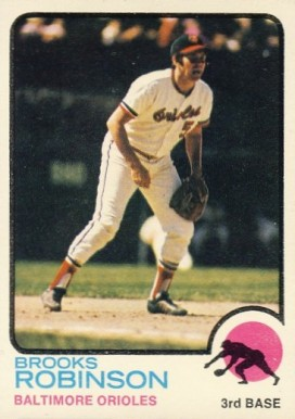 1973 Topps Brooks Robinson #90 Baseball Card