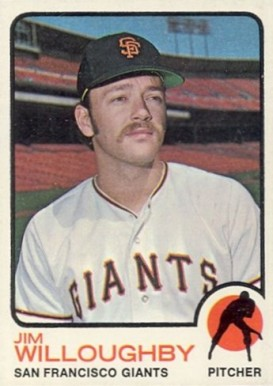 1973 Topps Jim Willoughby #79 Baseball Card