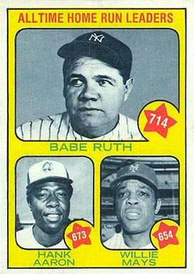 1973 Topps Hank Aaron 1 Baseball Card Value Price Guide