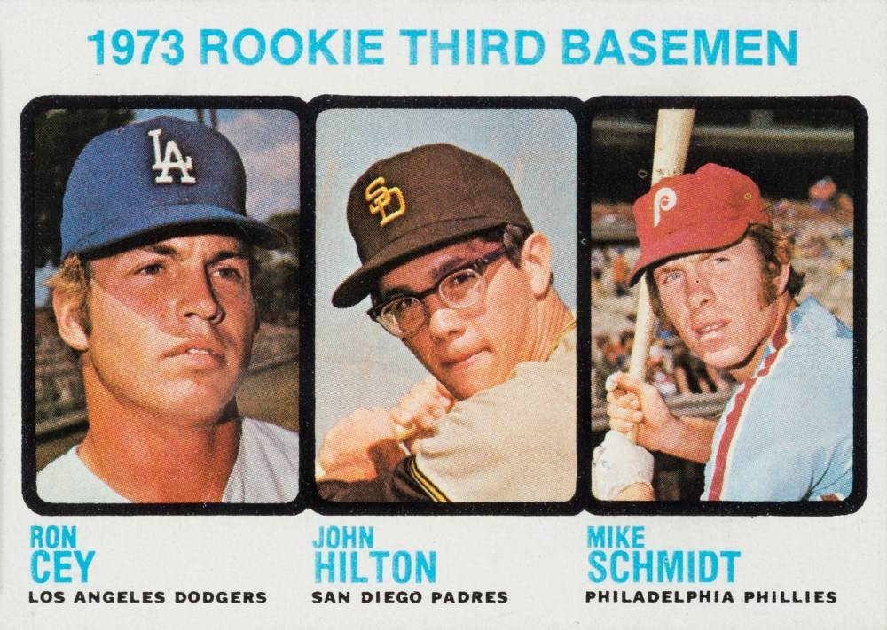 1973 Topps Mike Schmidt #615 Baseball Card