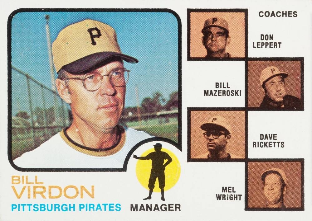 1973 Topps Pirates Manager/Coaches #517-Ear Baseball Card