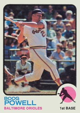 1973 Topps Boog Powell #325 Baseball Card