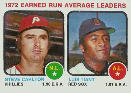 1973 Topps E.R.A. Leaders #65 Baseball Card