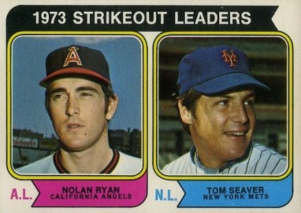 1974 O-Pee-Chee Strikeout Leaders #207 Baseball Card