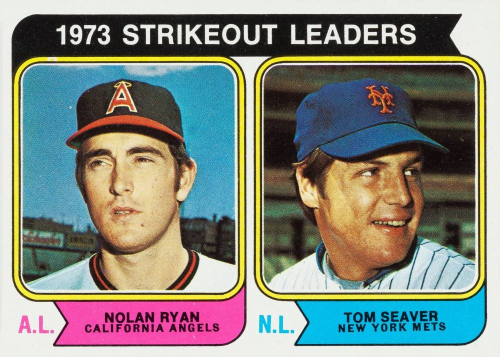 1974 Topps Strikeout Leaders #207 Baseball Card