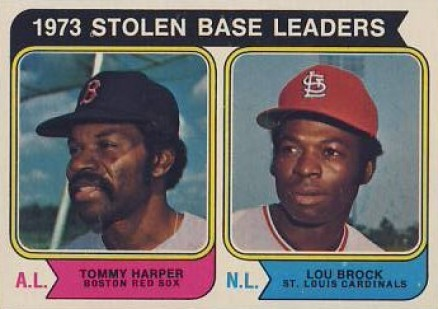 1974 Topps Lou Brock #204 Baseball Card