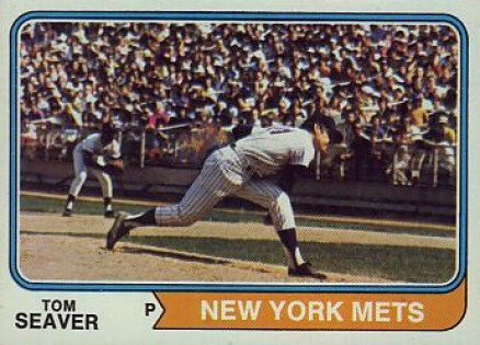 1974 Topps Tom Seaver #80 Baseball Card