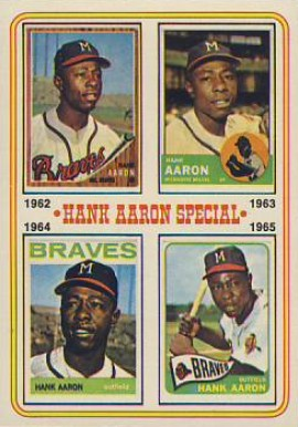 1974 Topps Hank Aaron #4 Baseball Card