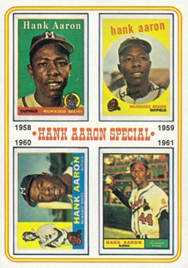 1974 Topps Hank Aaron #3 Baseball Card