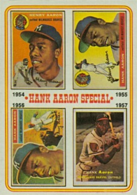 1974 Topps Hank Aaron #2 Baseball Card