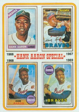 1974 Topps Hank Aaron #5 Baseball Card