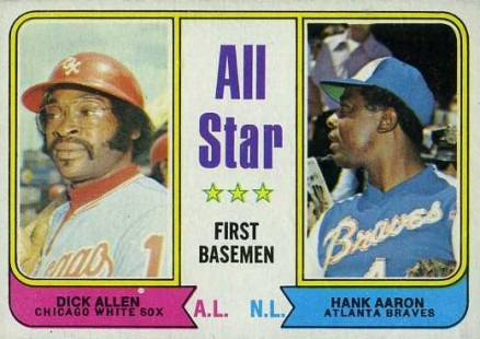 1974 Topps Hank Aaron #332 Baseball Card
