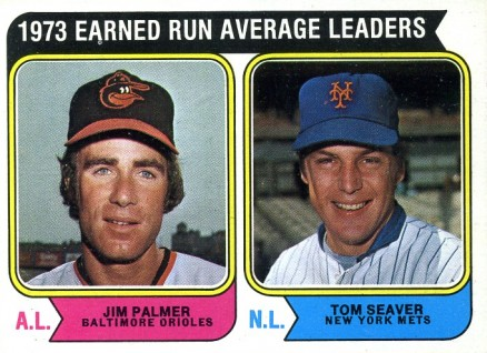 1974 Topps Jim Palmer #206 Baseball Card