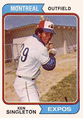 1974 Topps Ken Singleton #25 Baseball Card