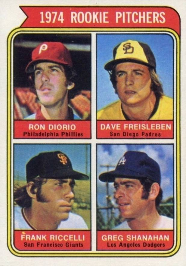 1974 Topps 1974 Rookie Pitchers  #599-SD-sm Baseball Card