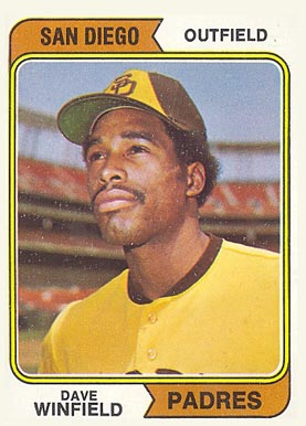 1974 Topps Dave Winfield #456 Baseball Card