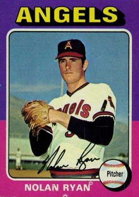 1975 Topps Mini Nolan Ryan #500 Baseball Card