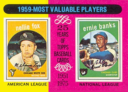 1975 Topps Mini Ernie Banks #197 Baseball Card