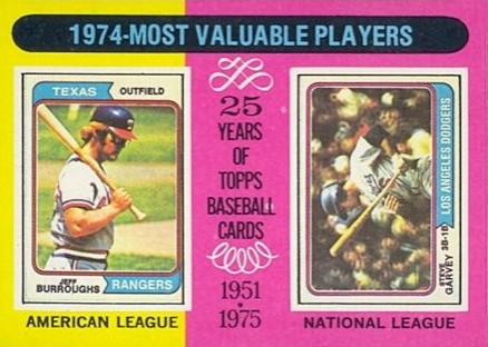 1975 Topps Mini 1974 Mvp's #212 Baseball Card