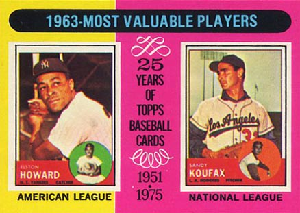 1975 Topps Mini Elston Howard #201 Baseball Card