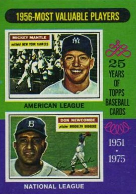 1975 Topps Mini Mickey Mantle #194 Baseball Card